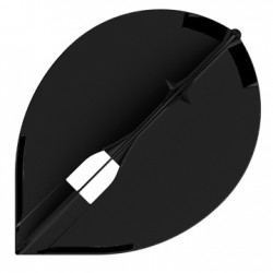 L2c Tear Drop Flight L (Black)