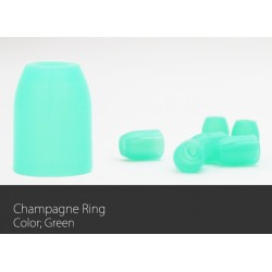 Champagne Ring Green