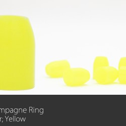 Champagne Ring Yellow