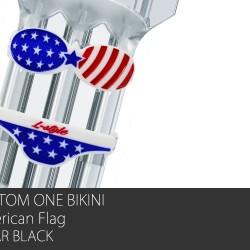Custom One Bikini (American Flag)