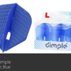 L3d Dimple Flight L (Blue)