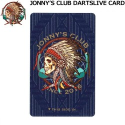 Jonny's Club Dartslive Card