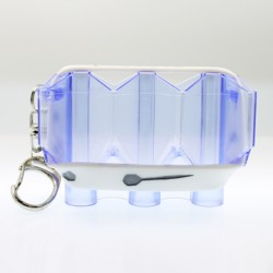 Krystal Flight Case (Clear Blue)