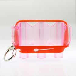 Krystal Flight Case (Clear Pink)