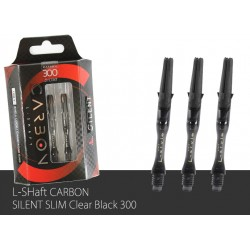 L-Shaft Carbon Silent 300 (Clear Black)