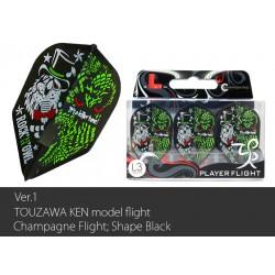 Ken Touzawa v1 Black Flight L (Shape)