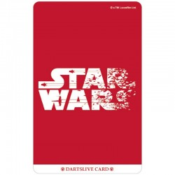 Star Wars The Last Jedi Dartslive Card (02)