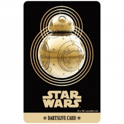 Star Wars The Last Jedi Dartslive Card (04)