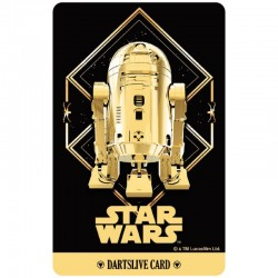 Star Wars The Last Jedi Dartslive Card (05)