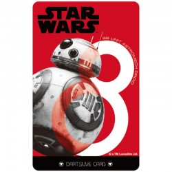 Star Wars The Last Jedi Dartslive Card (06)