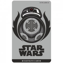 Star Wars The Last Jedi Dartslive Card (09)